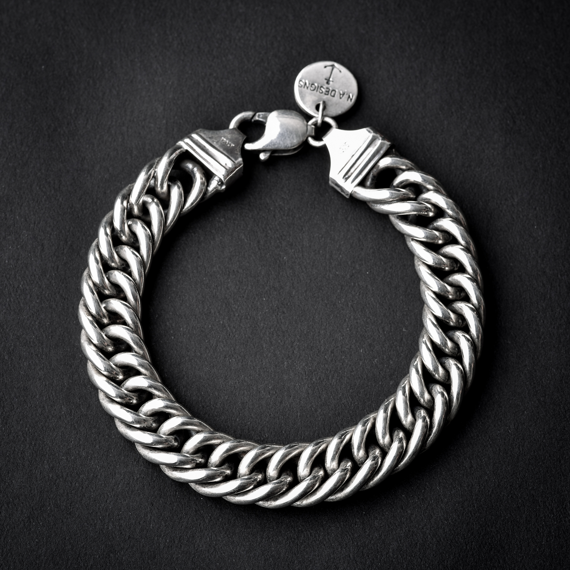 Round Double Chain Link Bracelet N A